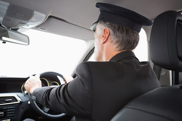 Chauffeur with Tangier transportation Services